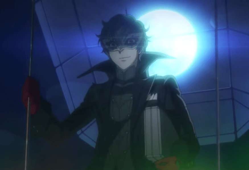 Persona 5 - one of the best RPG games for the PS4
