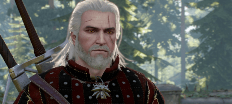 The witcher 3 geralt
