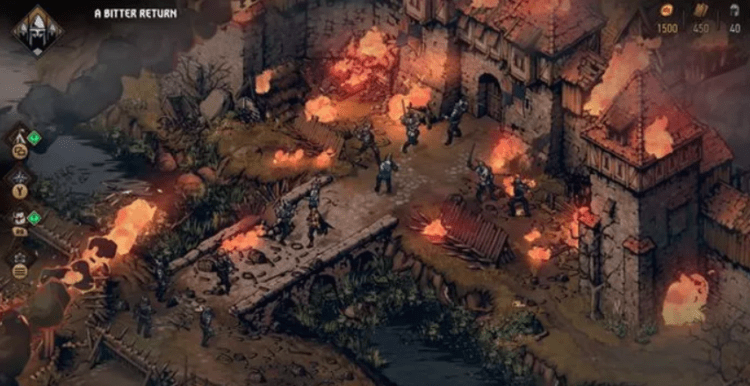 thronebreaker the witcher tales gameplay