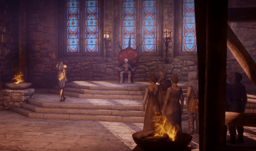 dragon age inquisition castle