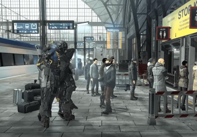 Deus Ex Mankind Divided - Gameplay