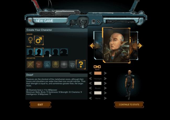 Shadowrun Hong Kong Character Creation