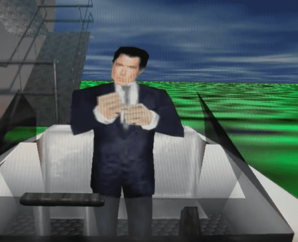 GoldenEye 007 N64 - James Bond