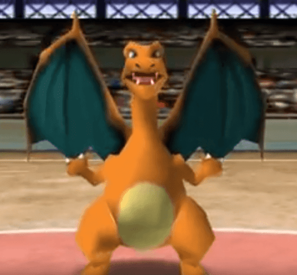 Pokemon Stadium - Charizard