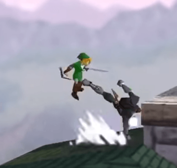 Super Smash Bros - Link