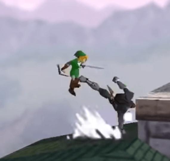 Super Smash Bros - Link