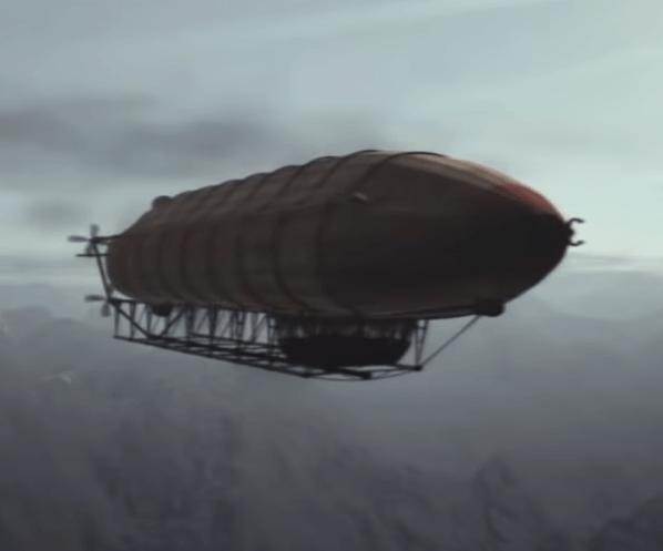 Syberia - Steampunk Airship