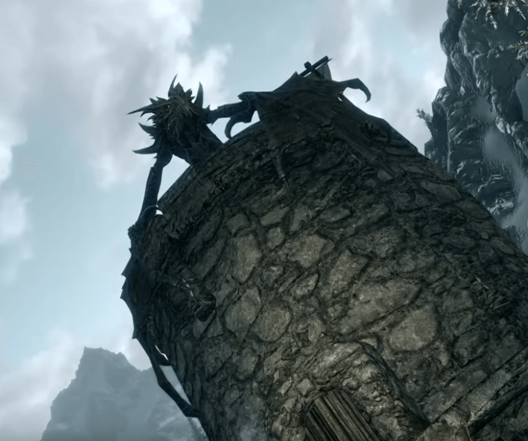 Skyrim - Alduin the Dragon