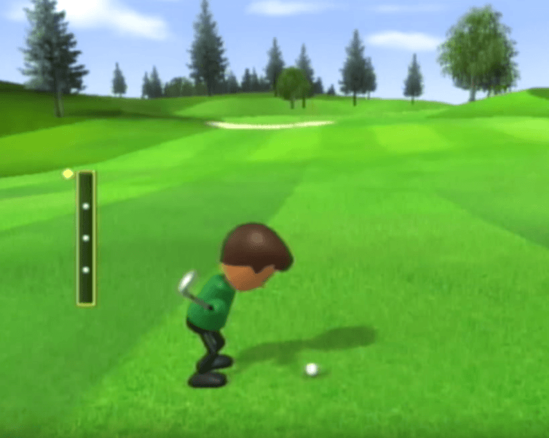 Wii Sports Gameplay - Golf