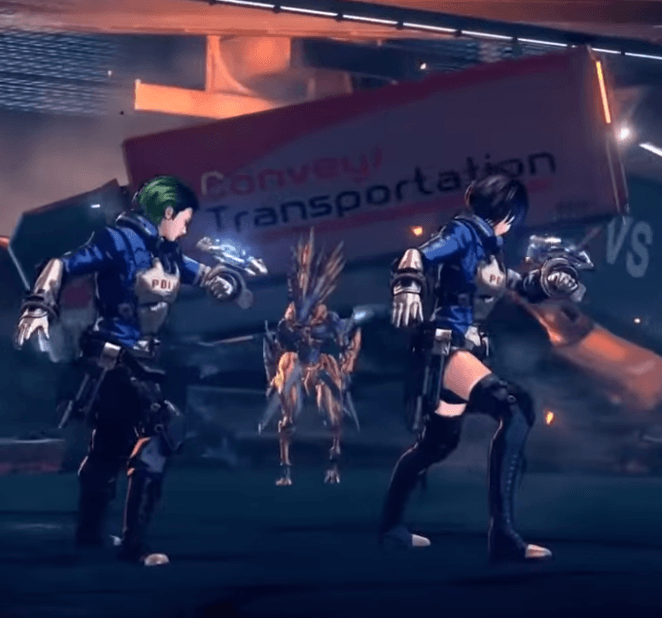 Astral Chain - Switch Gameplay