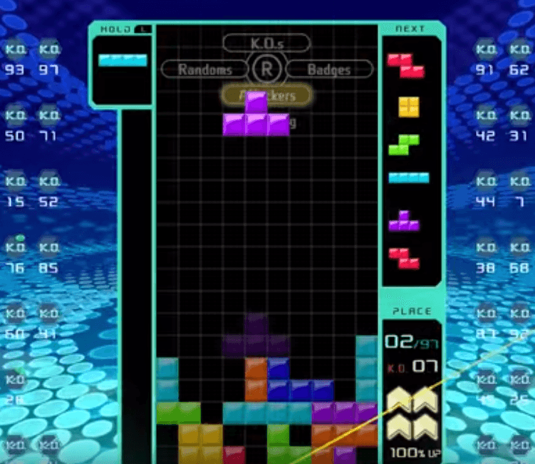 Tetris 99 - Gameplay