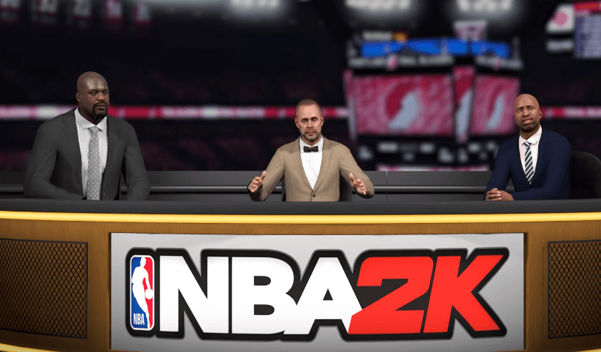 NBA 2K - Commentary