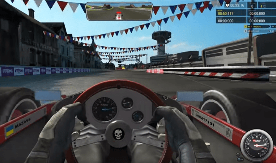 Victory - The Age of Racing Gameplay