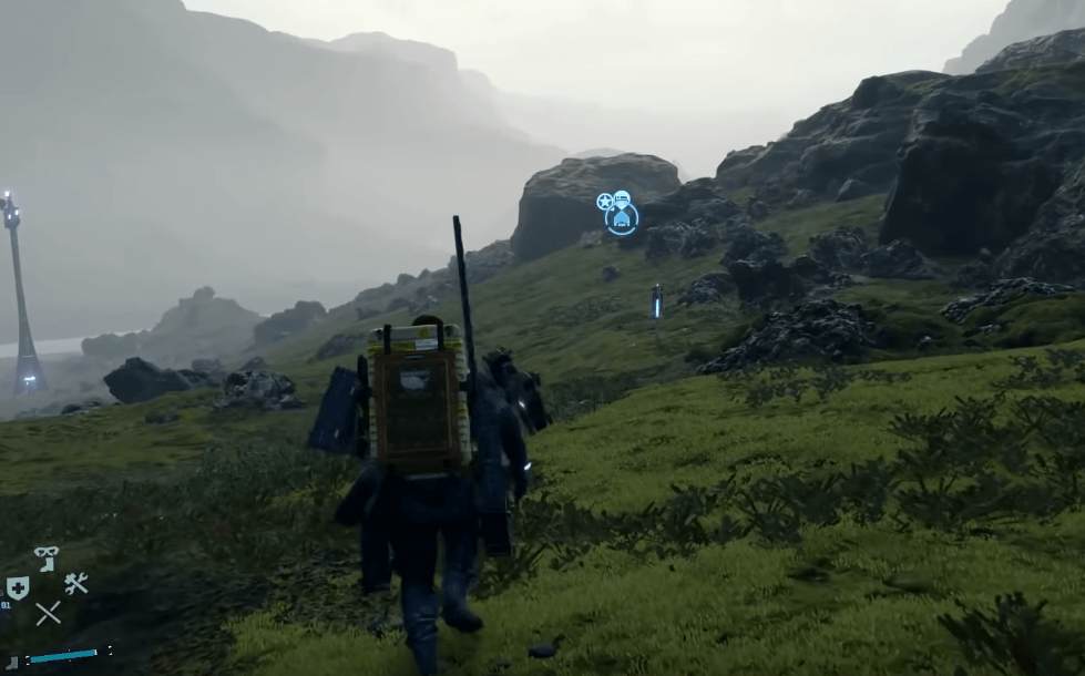 Death Stranding - Open World Gameplay