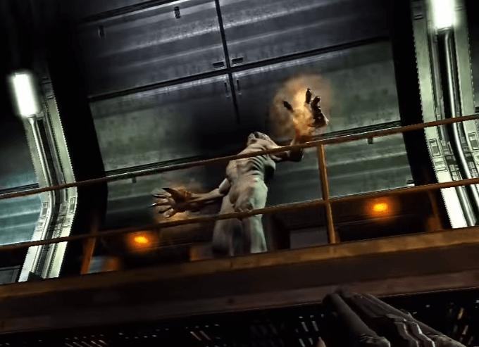 Doom 3 Gameplay