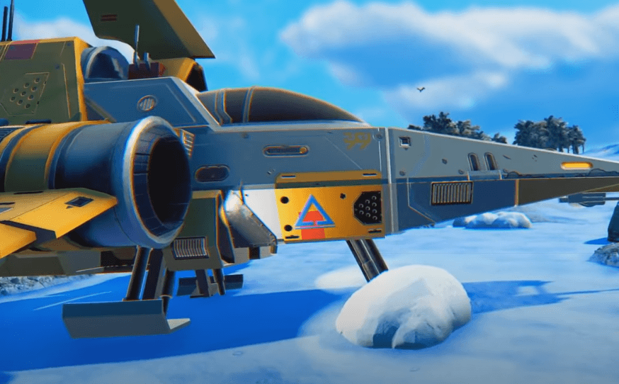 No Man's Sky Starship