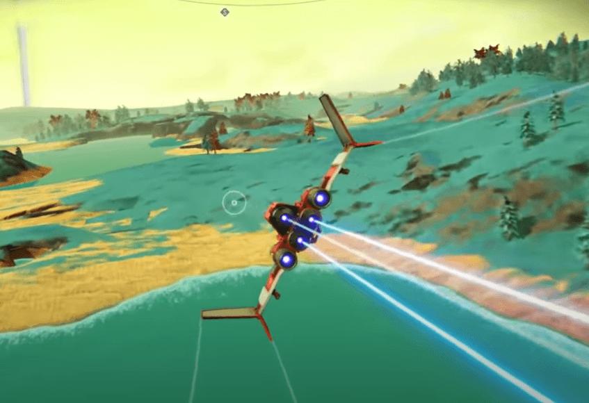 No Man's Sky VR - Starship Travel