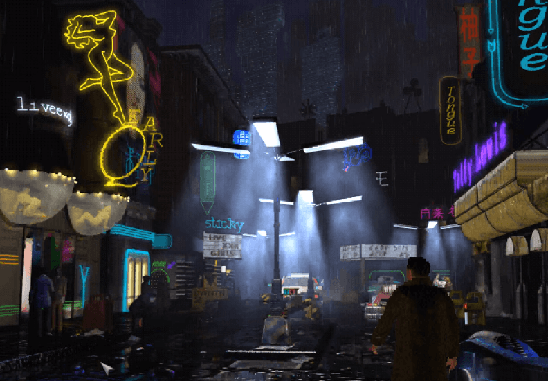 Blade Runner PC Gameplay