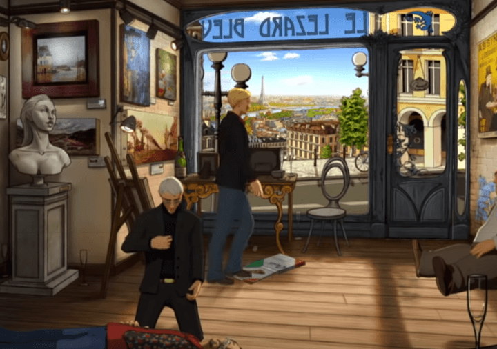 Broken Sword 5 PC Gameplay