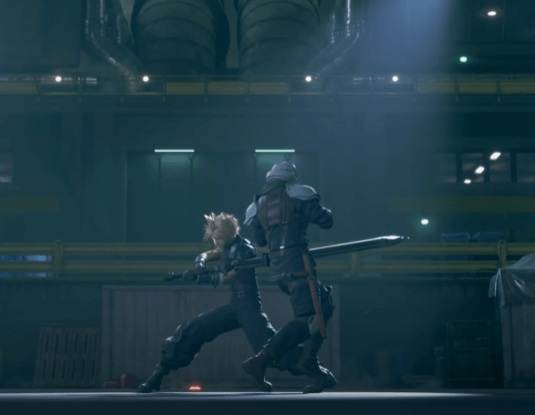 Final Fantasy 7 Remake Gameplay