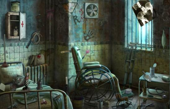 Dark Asylum Mystery Adventure PC Gameplay