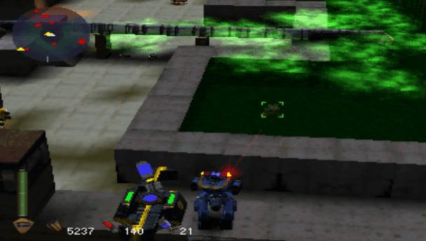 Future Cop LAPD PS1 Gameplay