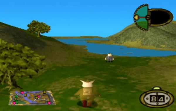 Hogs of War PS1 Gameplay