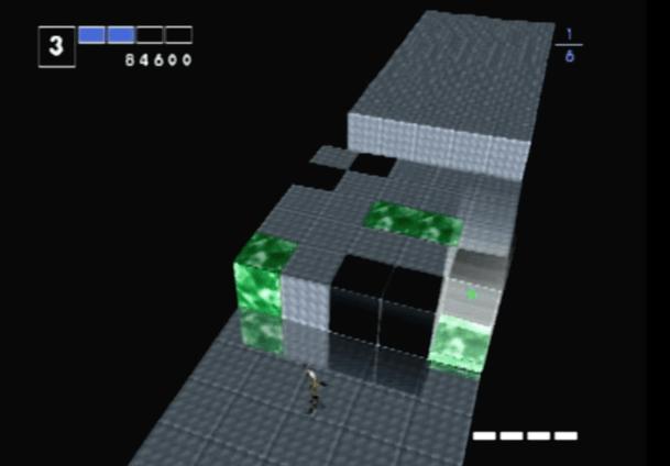 Intelligent Qube PS1 Gameplay