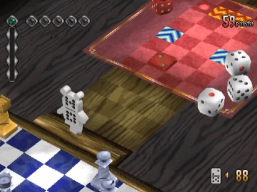No One Can Stop Mr Domino PS1 Gameplay