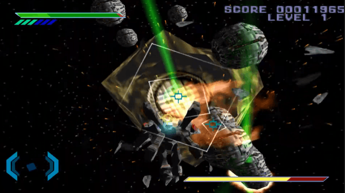 Omega Boost PS1 Gameplay