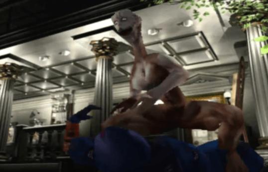 Parasite Eve PS1 Gameplay