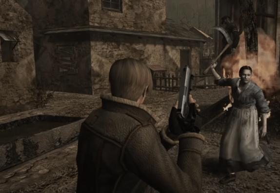 Resident Evil 4 Xbox 360 Gameplay