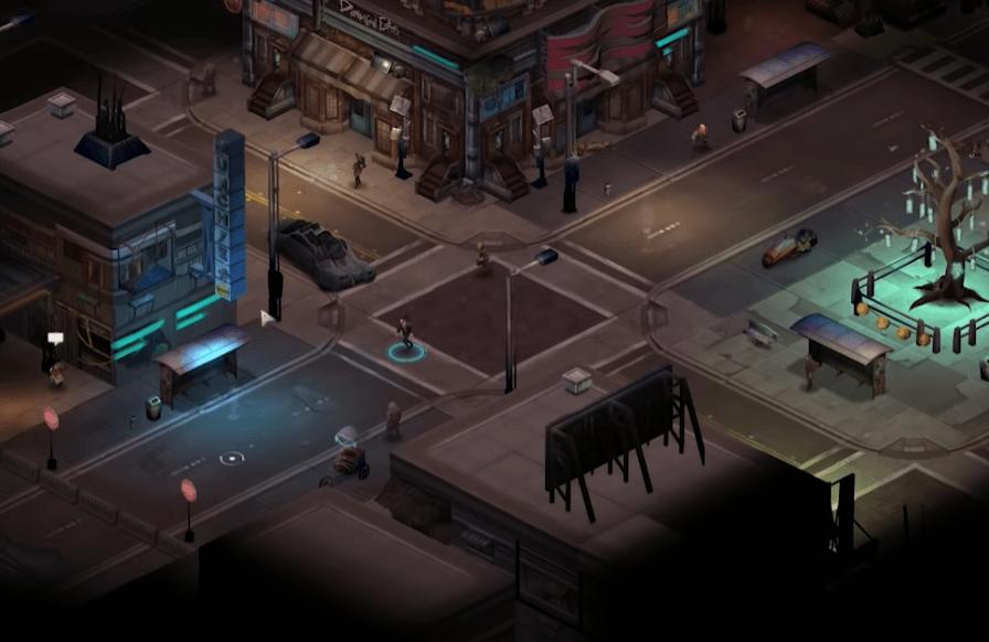 Shadowrun Returns PC Gameplay