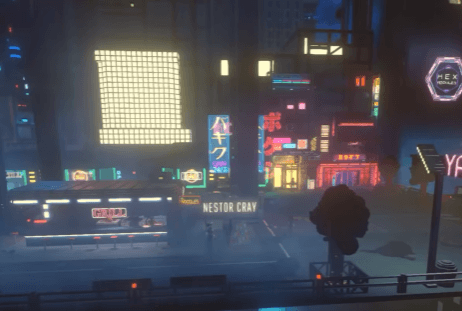 Cloudpunk Gameplay