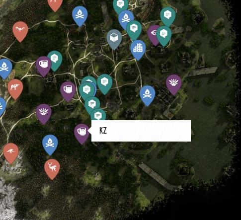 KZ Ancient Vessel Map Location
