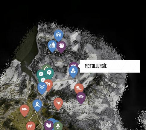 Metallurgic Ancient Vessel Map Location