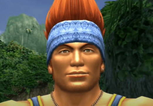 Wakka Watches Yuna Play Blitzball