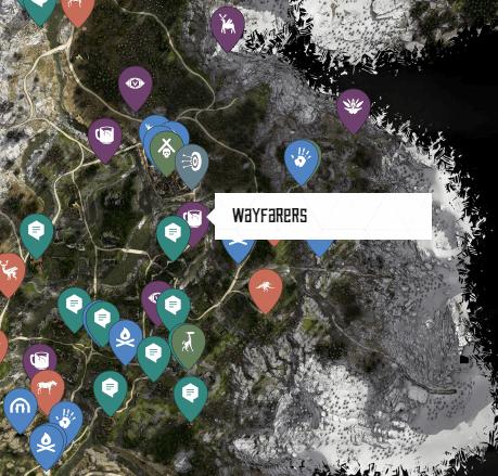 Wayfarers Ancient Vessel Map Location