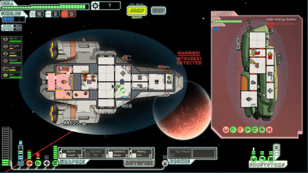 Faster Than Light Spaceship