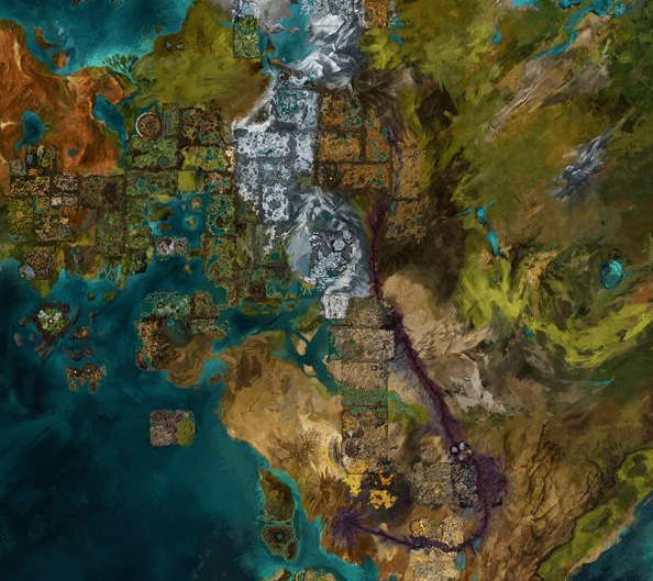 Guild Wars 2 Map