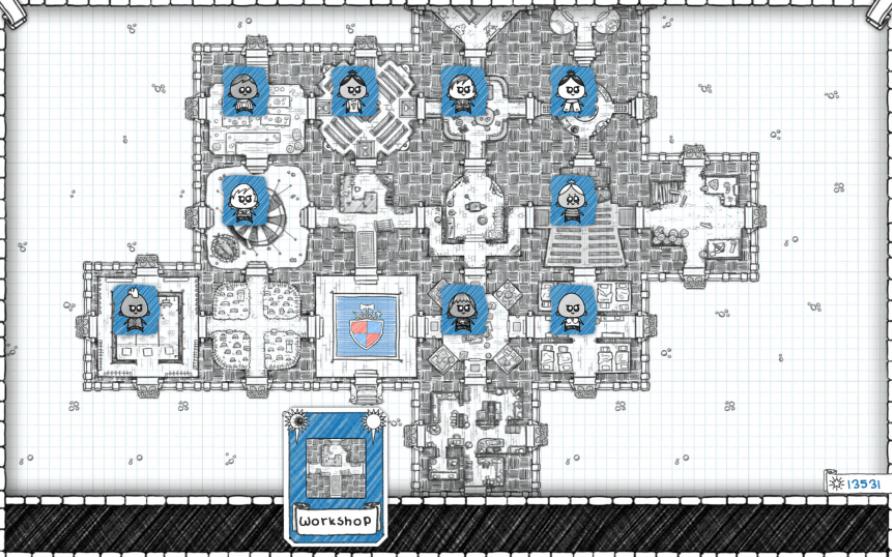 Guild of Dungeoneering Gameplay