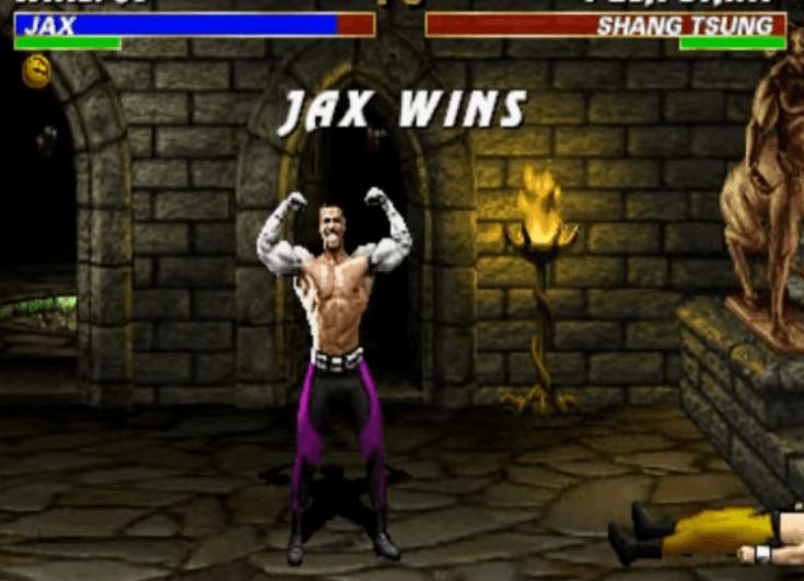 Jax - Mortal Kombat 2