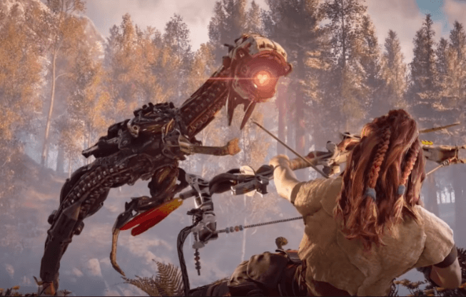 Aloy trains for the Proving