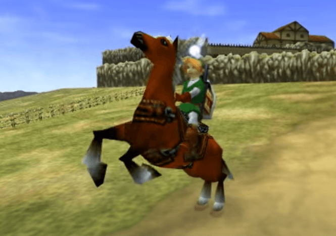 Epona - Ocarina of Time