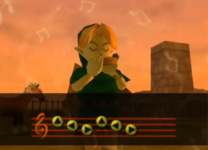 Epona's Song with the Ocarina
