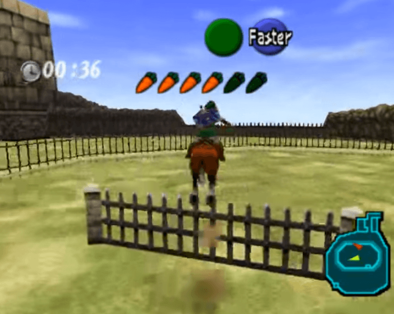 Lon Lon Ranch Epona Obstacle Course