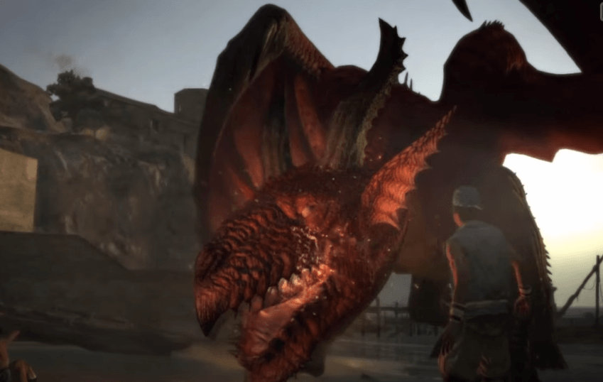 Opening Scene in Dragon;s Dogma