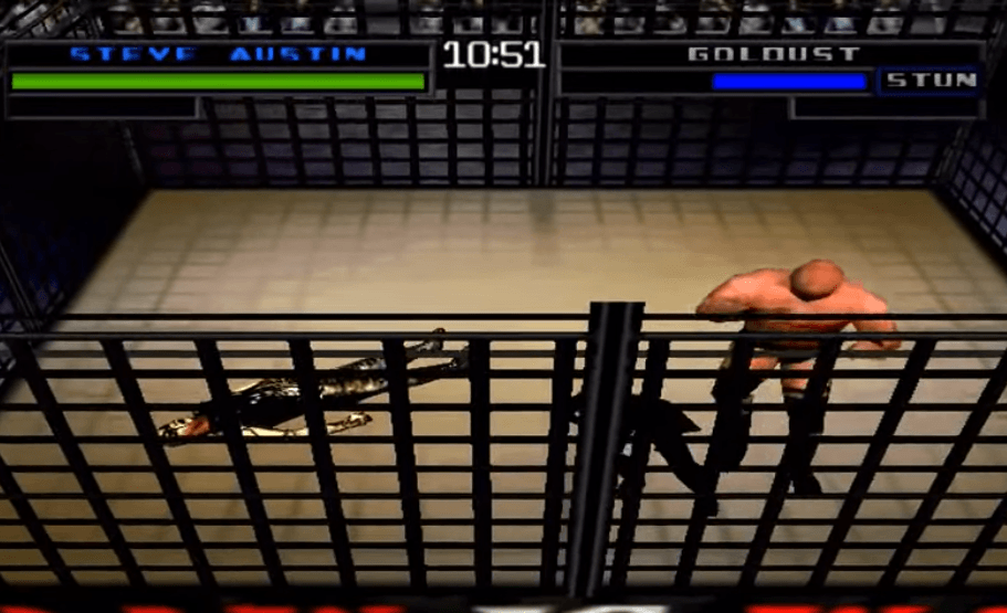 WWF War Zone Cage Match