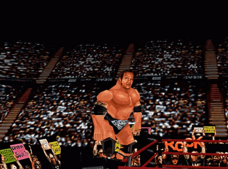 WWF Wrestlemania 2000 N64 - The Rock