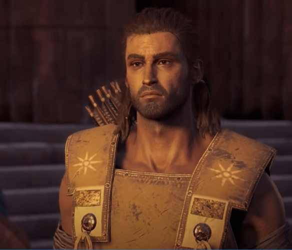 Who is Alexios' Father